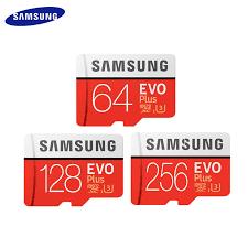 100% <b>Original SAMSUNG EVO</b> PLUS <b>Memory</b> Card Class 10 U3 ...