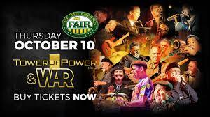 Fresno Fair Concert Seating Chart Tower Of Power War