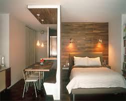 Studio Apartment Bedroom Exterior Simple Design