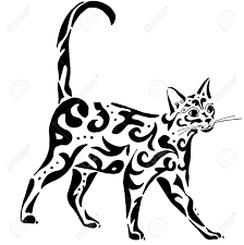 Egyptian Cat Drawing At Getdrawingscom Free For Personal Use