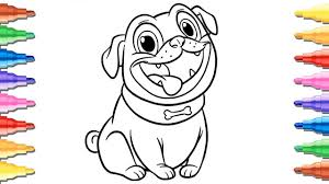 Skillful Design Puppy Dog Pals Coloring Pages For Kids Rolly Youtube