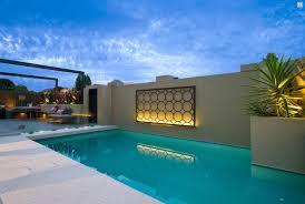 exterior wall decor metal. image of: tropical outdoor wall decor pool exterior metal