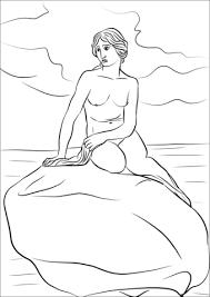 Disegno Di Statua Della Sirenetta Da Colorare Disegni Da Colorare