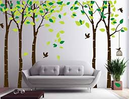 CaseFan 5 Trees Wall Stickers Forest Mural Paper for Bedroom Kid Baby Nursery Vinyl Removable DIY & CaseFan 5 Trees Wall Stickers Forest Mural Paper for Bedroom Kid ... www.pureclipart.com