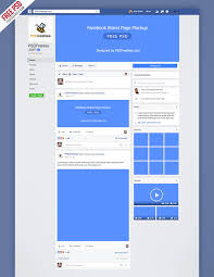 Facebook Info Page Template Template Download Free Cover Page