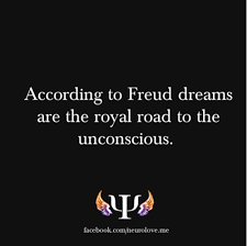 Freud Dream Quotes Best of According To Freud Dreams Are The Royal Road To The Unconscious