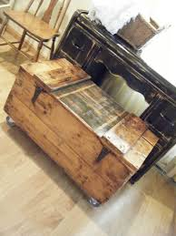 storage trunk rustic coffee full size of