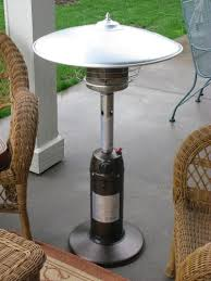 propane patio heater with table. Beautiful Table Stay Warm And Save Money With This Tabletop Propane Patio Heater At The  Home Depot  Intended Propane Patio Heater With Table B