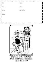 Cartoon 5 Fax Cover Sheet At Freefaxcoversheets Net