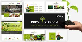 Eden Garden Gardening And Landscaping HTML40 Template By Cool Garden Web Design Design