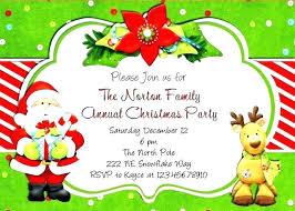 Party Printable Invitation Templates Free Word Holiday Company