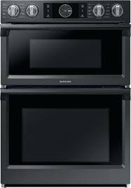 combination wall oven microwave combination wall oven with flex fingerprint resistant black combo wall oven reviews