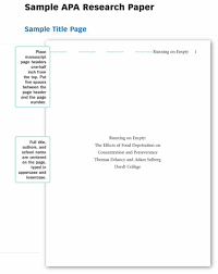 003 Research Paper Apa Template Cover Page For Museumlegs