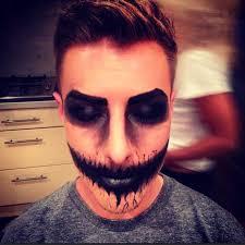 demon clown makeup