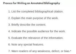 What Is A Preliminary Bibliography Quora