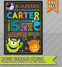 Lil Monster Birthday Invitations Little Monster Birthday Invitation Monster Invite Monster Party