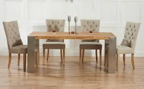 oak dining table and chairs uk