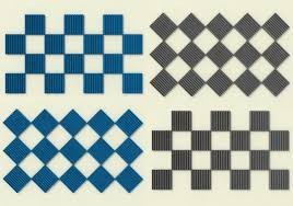 classic wedge acoustic foam tile wall patterns 1