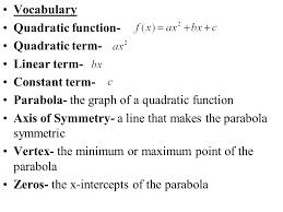 2 solving quadratic