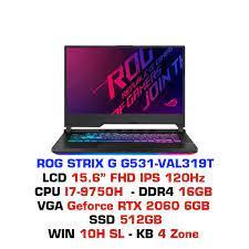 Laptop Gaming Asus ROG STRIX G G531 VAL139T – GEARVN.COM