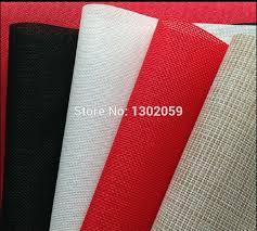 14ct and 18ct plastic embroidery aida cloth fabric plastic cross stitch fabric canvas aida cloth plastic fabricator