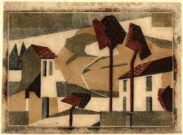 Edith Lawrence, Houses under the Hill, c1929-30 | London Original Print Fair