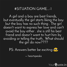 Situation Game 1 A Quotes Writings By Ayesha Ali Yourquote