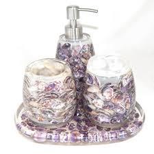 glass bathroom accessories sets. glass bathroom accessories sets