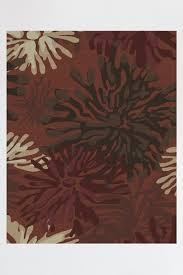 ruggable mum 8 ft x 10 ft fl red indoor outdoor area rug