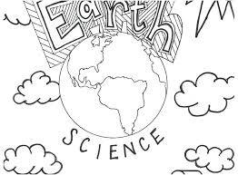 Science Coloring Sheets Printable Coloring Image
