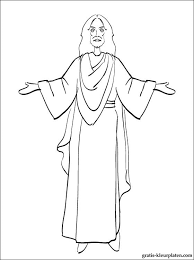 Print Kleurplaat Jezus Voor Pasen Gratis Kleurplaten