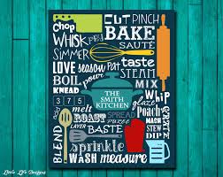 Word Signs Wall Decor Kitchen Sign Kitchen Wall Decor Kitchen Decor Kitchen Wall Art 72