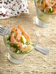 Fresh fruit and shrimp add a burst of freshness to your appetizer buffet. Marinated Shrimp