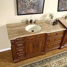 58 inch bathroom single vanity bath furniture cabinet right side sink 0904tr