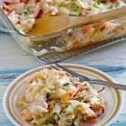 baked crab salad