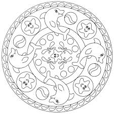 Mandala Coloring Pages Kids Mandala Coloring Pages Kids For On Free