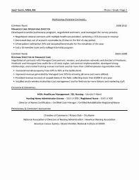 Chemotherapy Nurse Sample Resume Impressive 48 Inspirational Nursing Leadership Resume Samples Resume