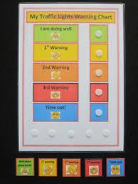 Details About My Traffic Lights Warning Chart Autism Adhd Sen Pecs Visual Behavioural Aid