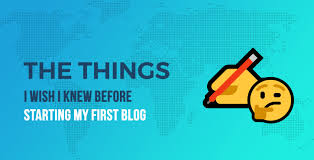 45 Things I Wish I Knew Before Starting A Blog That Gets 400000