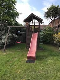 jungle gym lodge climbing frame
