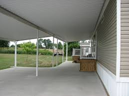 gorgeous mobile home patio roof