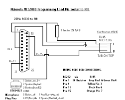 mcs 2000 wiring diagram external mic mcs automotive wiring diagrams my motorola radio info page