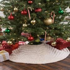 Christmas Tree Skirt Crochet Pattern Custom Winter Wonderland Tree Skirt Red Heart
