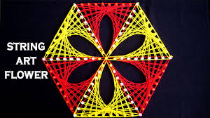 String Art Patterns String Art Patterns String Art Flower Making By Sonia Goyal