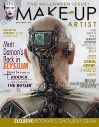 matt damon s back in elysium make up artist magazine issue 104