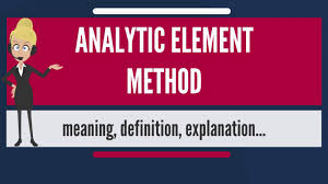 What Is Analytical Element Method What Does Analytical Element