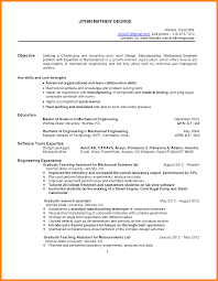 Engineer Resume Objective 24 Mechanical Engineer Resume Objective Cv Simple 13