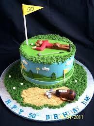 Golf Birthday Cake Decorations Cakes Beautiful For The Occasions