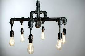 chandelier with edison bulbs hnd crfted industril chndelier pendnt lmp thomas light bulb round chandeliers