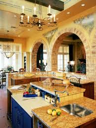 Tuscan Italian Kitchen Decor Italian Country Kitchen Design